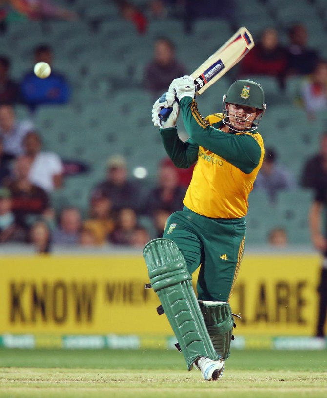 """Quinton de Kock is a possibility for us in the last game, depending on the medical committee"""