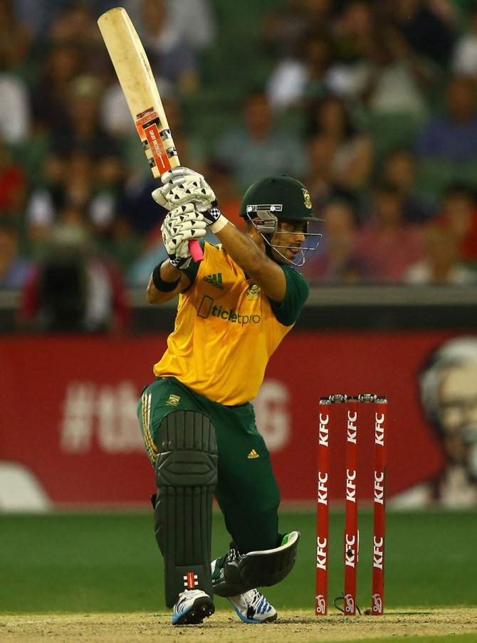 Duminy will miss the first two matches, but is expected to be fit for the third