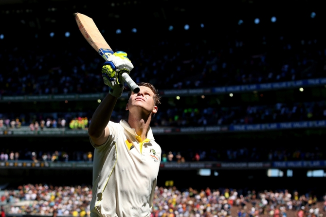 """To see Steve Smith and what he's doing in this point of time is very much along the lines of what Ricky Ponting was doing when he was dominating"""