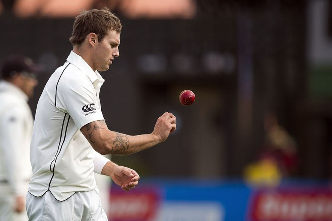 Bracewell dismissed Silva, Thirimanne and Jayawardene
