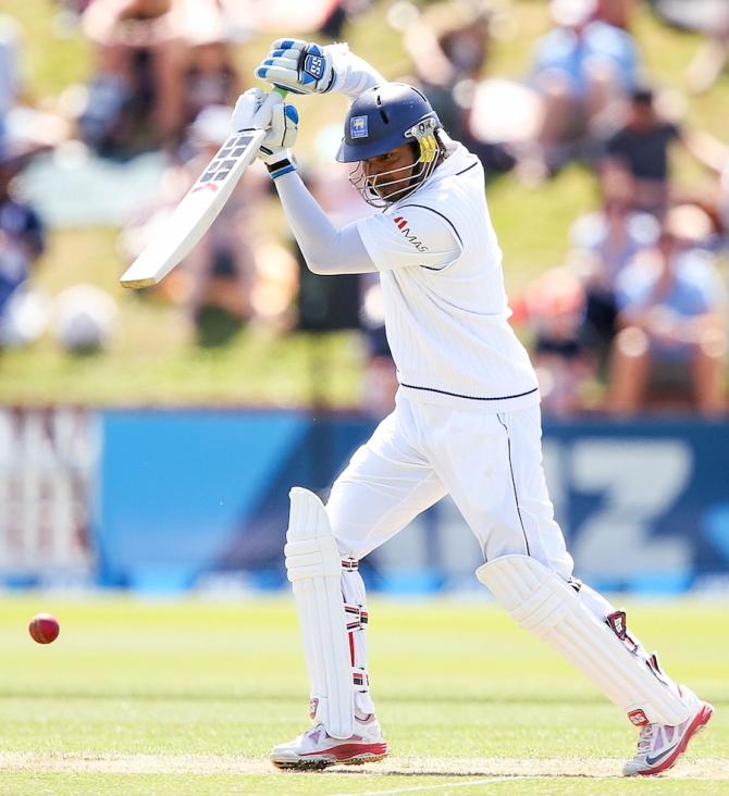 Sangakkara only took 224 innings to surpass 12,000 Test runs