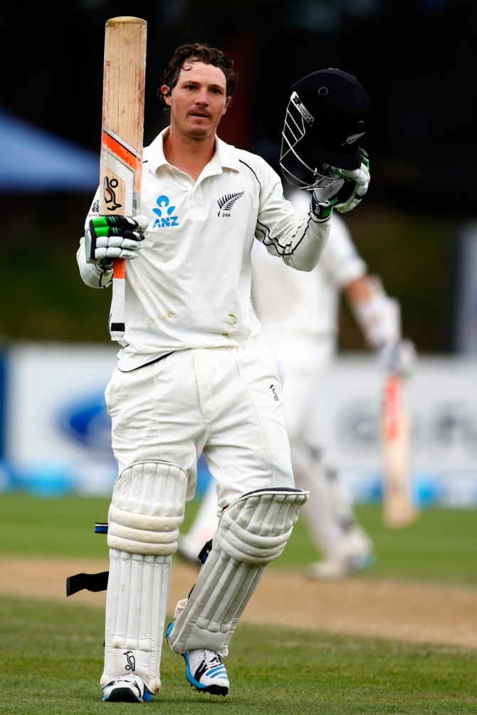 Watling hit nine boundaries and a six during his career-best knock of 142