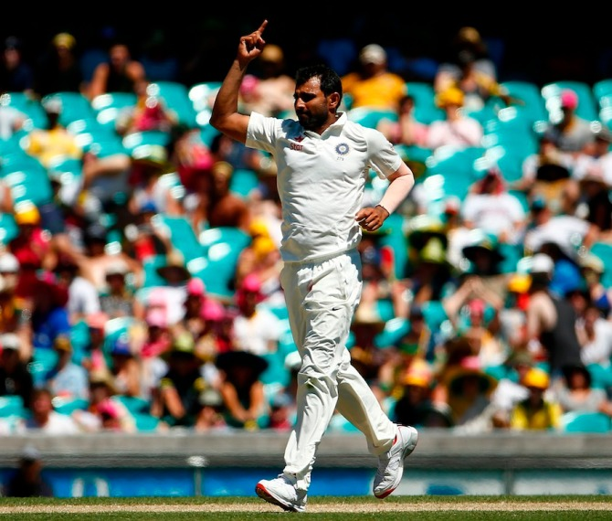 Shami finished with figures of 5-112 off 28.3 overs