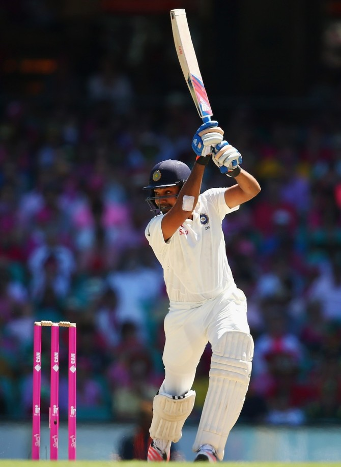 Sharma hit some superb shots during his knock of 53