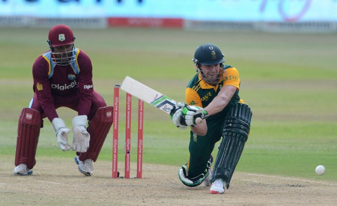 De Villiers was named Man of the Match for his magnificent knock of 81