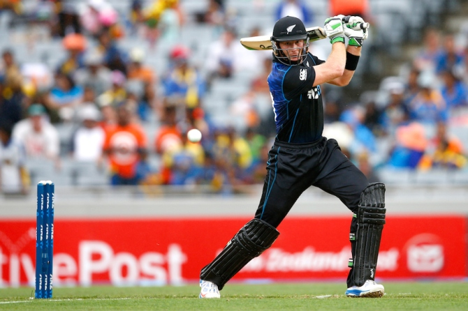 Guptill hit four boundaries and three sixes during his unbeaten knock of 66