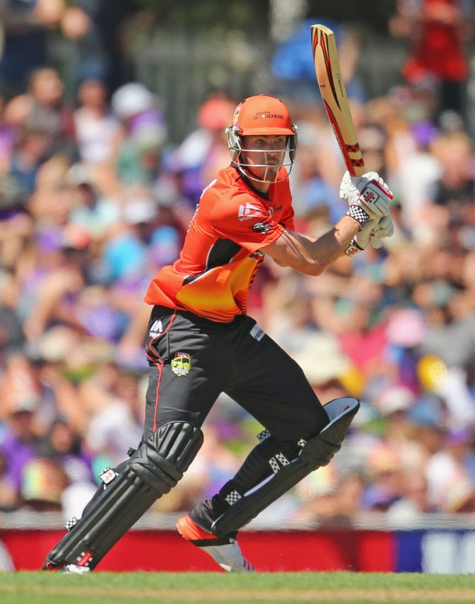 Turner hit one boundary and two sixes during his knock of 37