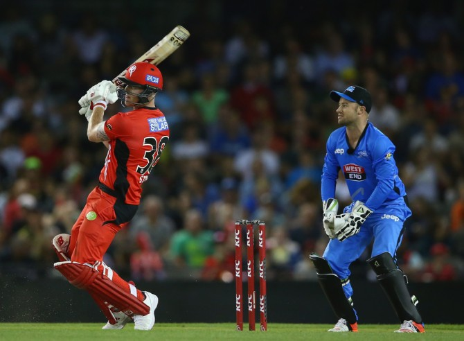 Stokes was the Renegades' top-scorer with 33 runs