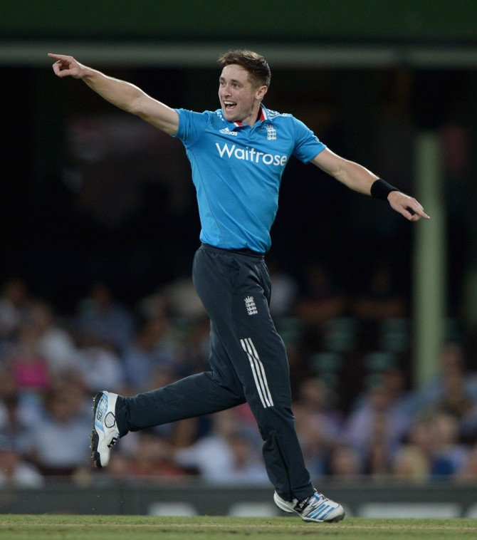Woakes dismissed Finch, Bailey, Maxwell and Warner