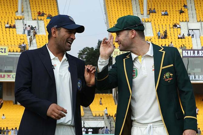 "Dhoni was ""not only a tremendous player but one of the nicest guys I have played against"""