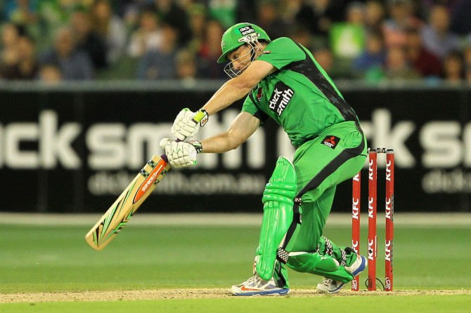 Hussey will watch the rest of the BBL from the sidelines