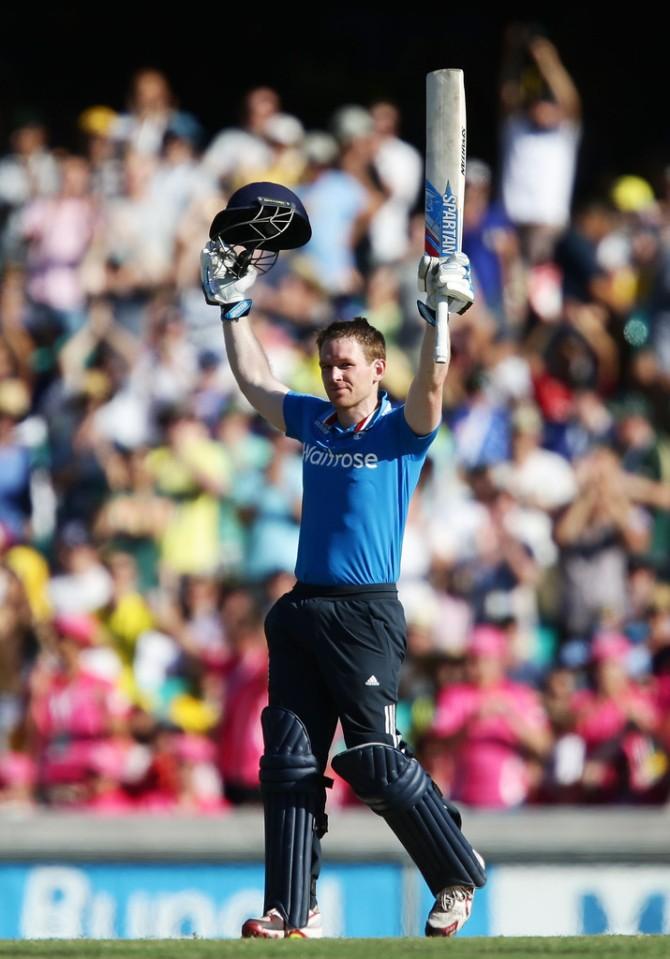 Morgan's seventh ODI century went in vain