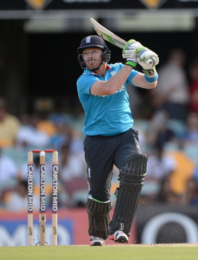 Bell hit eight boundaries during his knock of 88