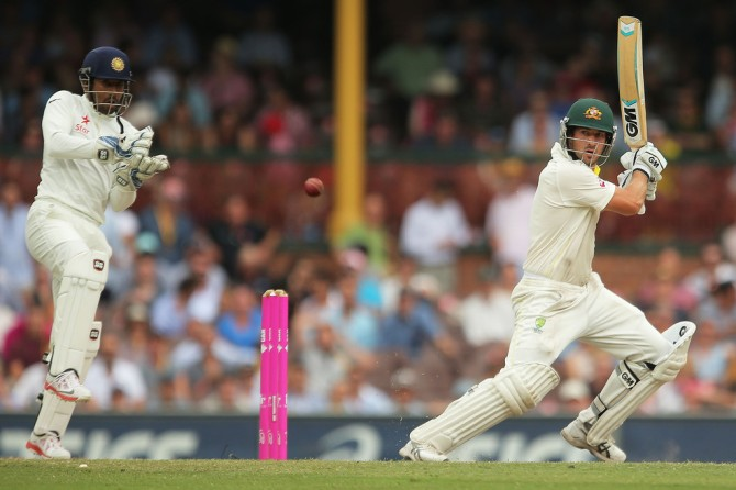 Burns only took 33 balls to bring up his half-century