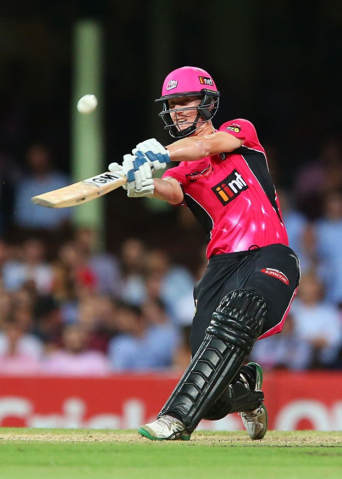Silk walloped one boundary and five sixes during his match-winning knock of 69