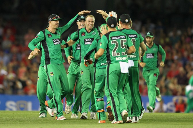 Beer was named Man of the Match for recording figures of 2-14 off four overs