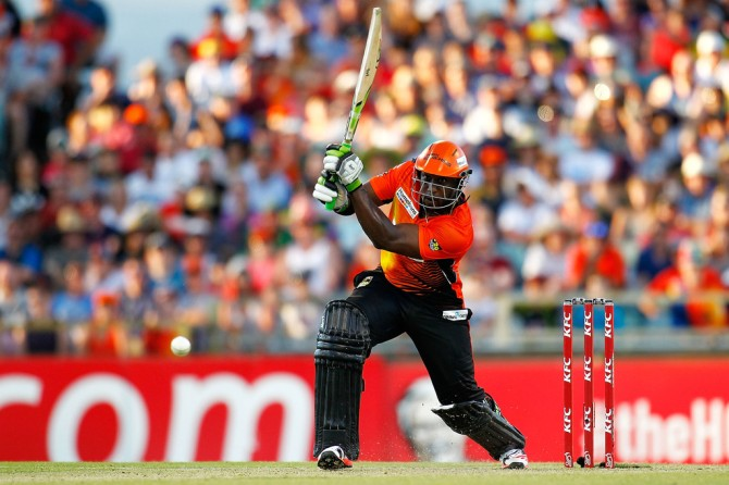 Carberry hammered eight boundaries and a six during his unbeaten knock of 69