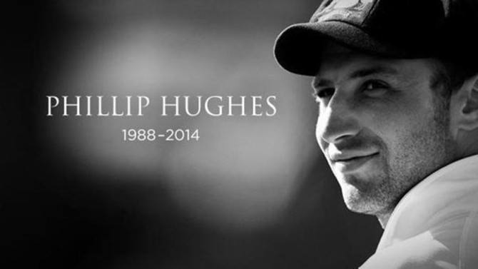 The bronze plaque will be placed underneath a small bust of Hughes on the front wall of the members' pavilion
