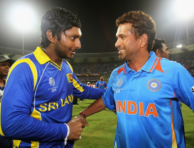 """They (Tendulkar and Sangakkara) are batsmen who made that adjustment across all formats quite easily"""