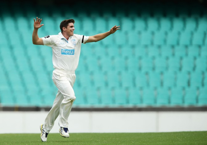 """If I was asked to pick a bowler that should be taken for the ride and can definitely play a huge role it would be Sean Abbott"""