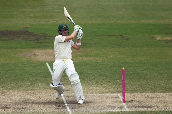 Smith smashed eight boundaries and a six during his knock of 71