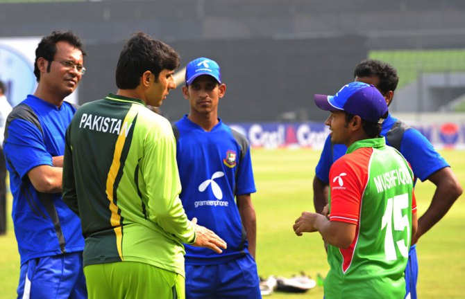 """""""If the BCB agree to pay for the team's air tickets and take care of their other expenses on the tour we will probably go ahead with it"""""""