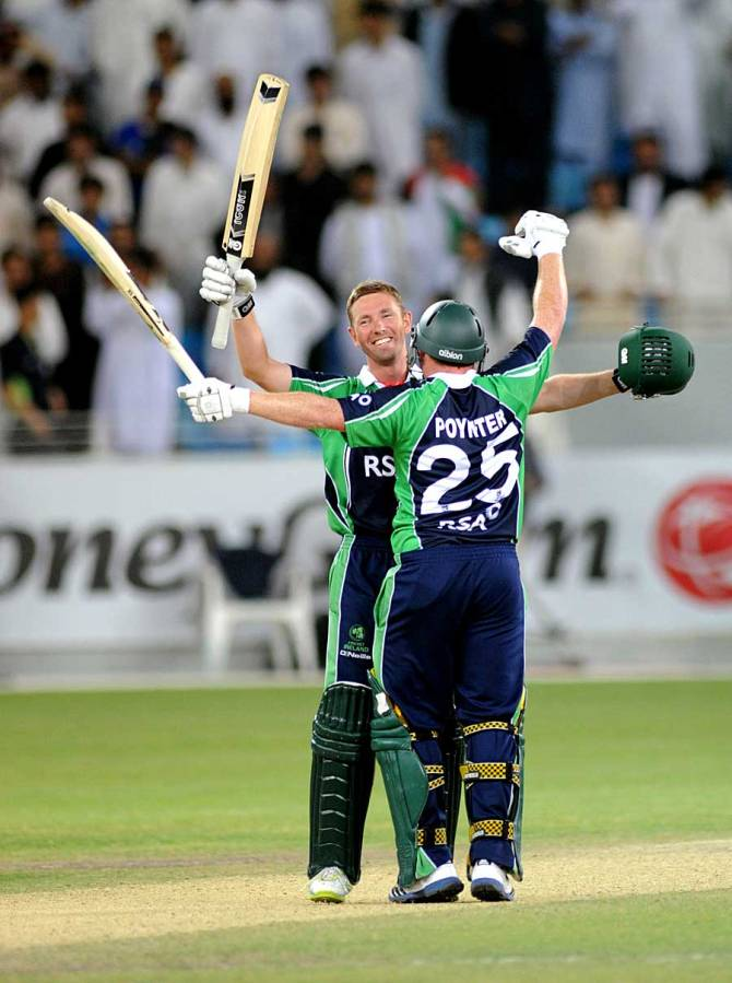 """""""I have poured my heart and soul into Irish cricket and to play a part in undoubtedly one of the great success stories of Irish sport has been an incredible experience"""""""