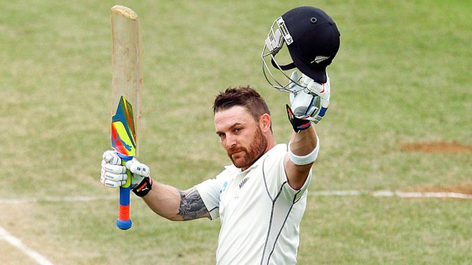 McCullum became the first New Zealand batsman to score 1,000 Test runs in 2014