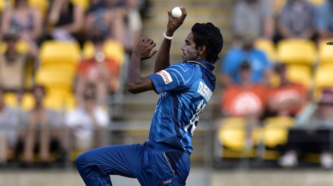 Chameera has only represented Sri Lanka in one ODI thus far