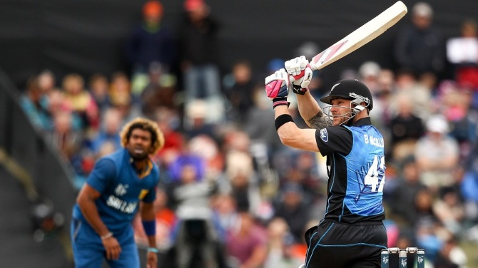 McCullum helped New Zealand get off to a strong start