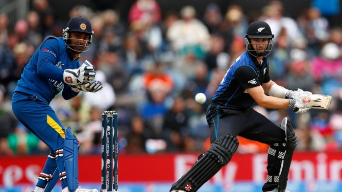 Williamson hit five boundaries and a six during his knock of 57