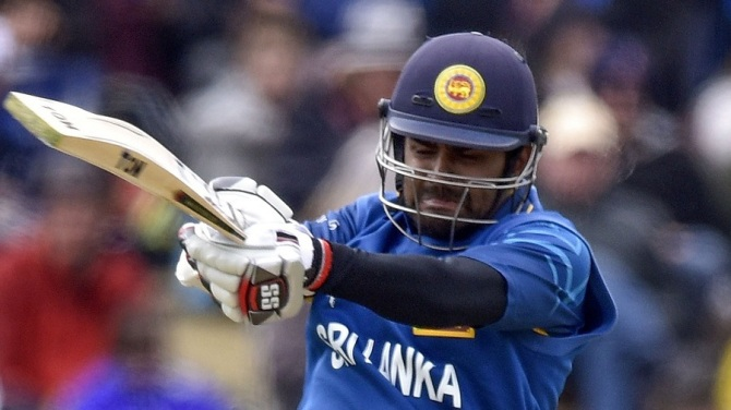 Thirimanne was Sri Lanka's top-scorer with 65 runs