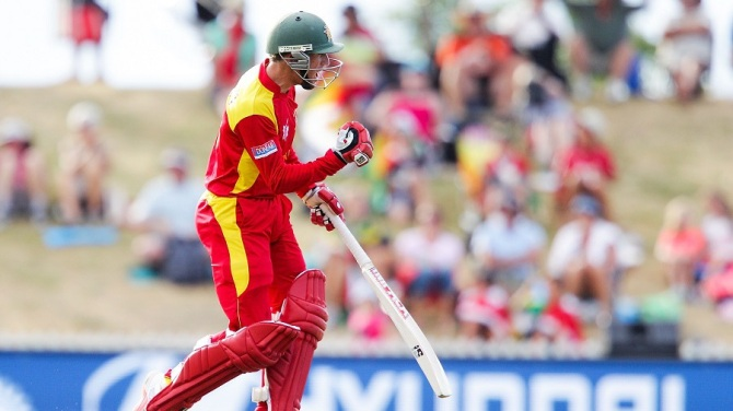Williams exults after leading Zimbabwe to victory