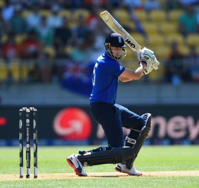 Root was England's top-scorer with 46 runs