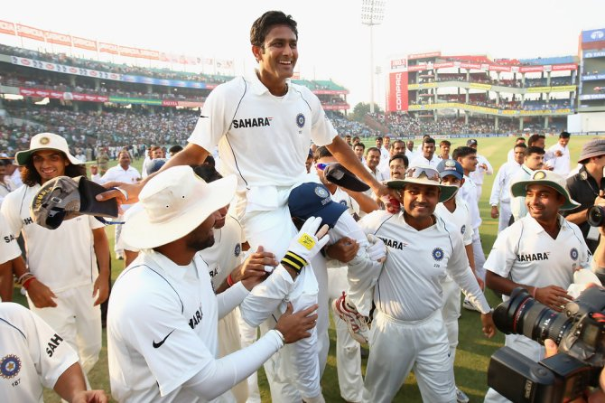 Kumble will become the 77th member of the ICC Cricket Hall of Fame