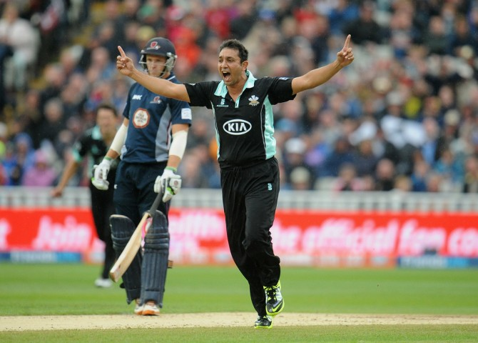 """I'm really excited to be back playing again for Surrey in front of packed crowds at the Kia Oval"""