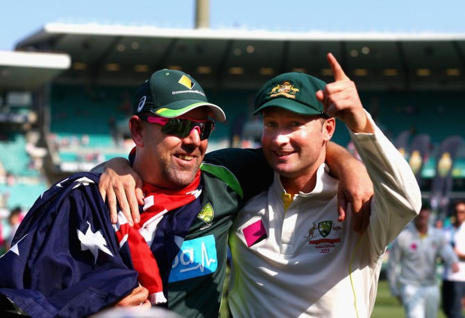 """It was Michael Clarke who taught them how to win. Darren Lehmann has come in and put a bit of icing on the cake"""