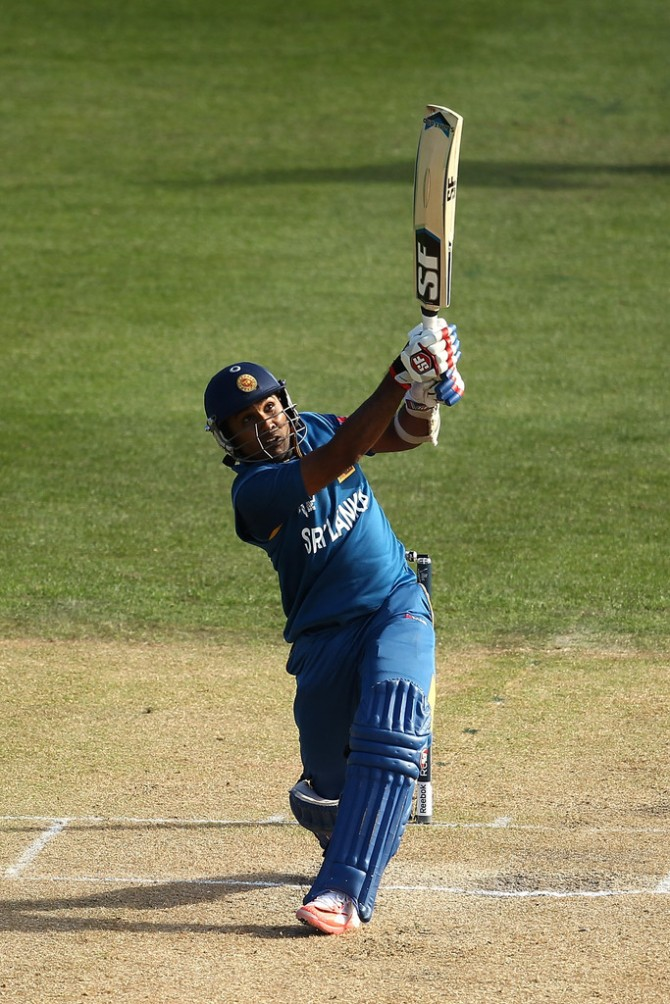 Jayawardene scored his 19th ODI century