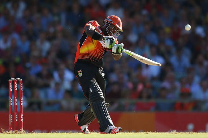 Carberry scored 266 runs at an average of 44.30 in the BBL