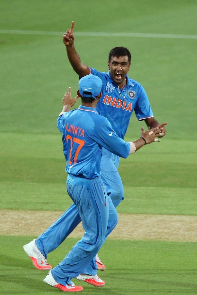 Ashwin will be fit for India's World Cup match against South Africa