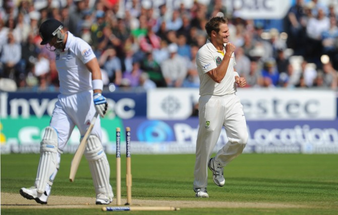 Harris took 24 wickets at an average of 19.58 during the 2013 Ashes series in England