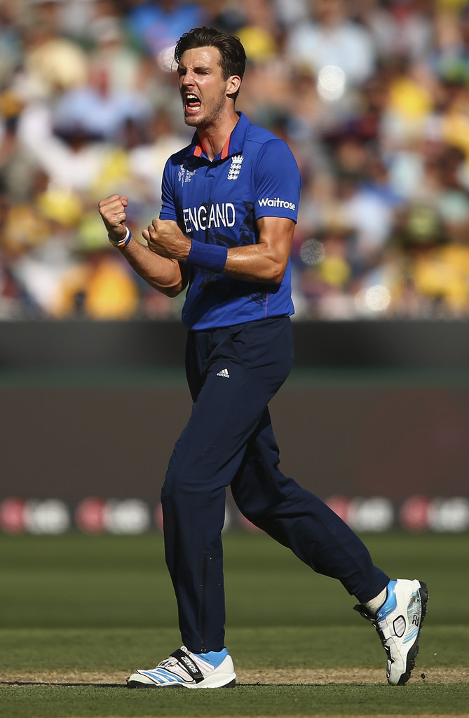 Finn is only the seventh bowler to take a hat-trick in the World Cup