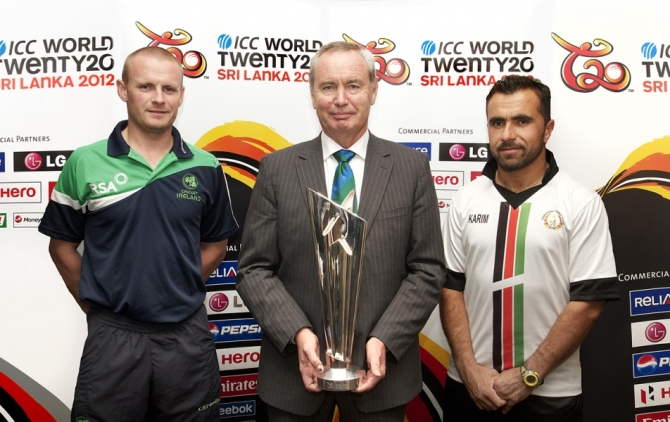 """We'd make sure that Ireland and Afghanistan are playing in the region of eight to ten ODIs per year"""