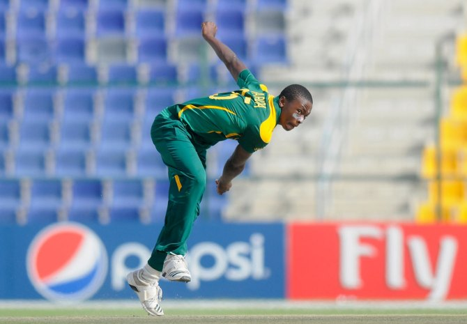 Rabada has received his first-ever central contract