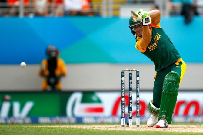 Du Plessis scored a valiant 82
