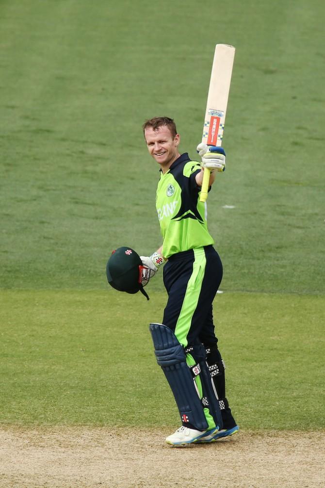 Porterfield's seventh ODI hundred went in vain