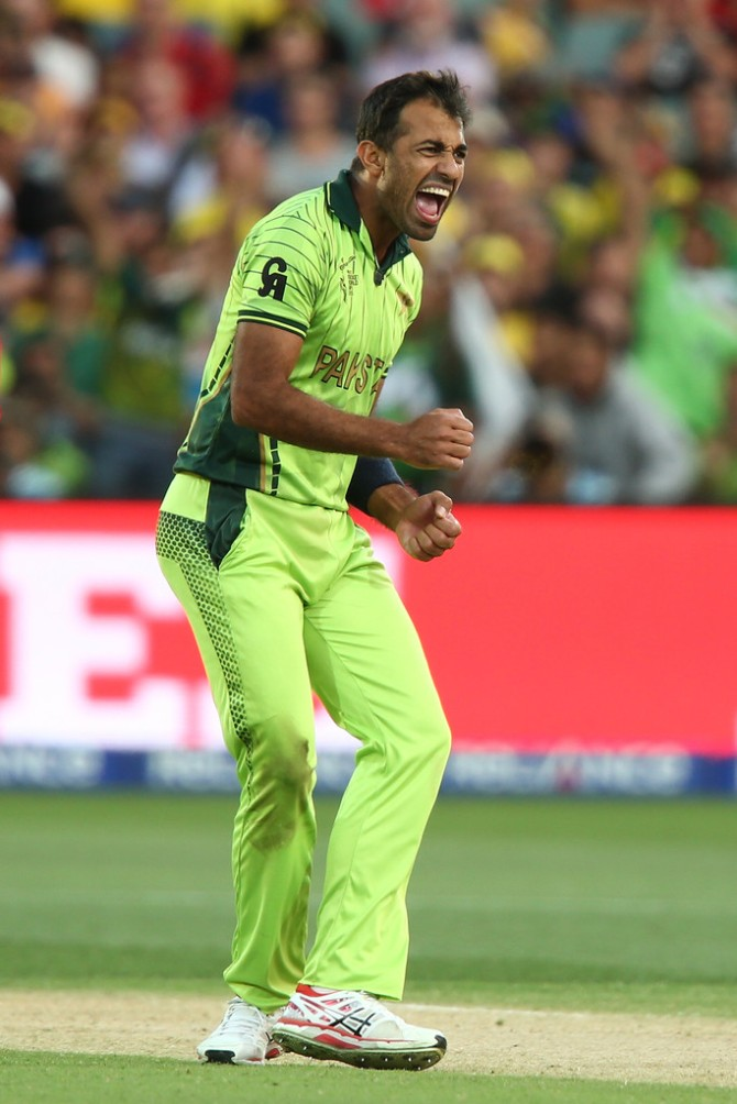 """""""What I saw of him (Wahab) against Australia convinces me that he's got it in him to make it big as a leader"""""""