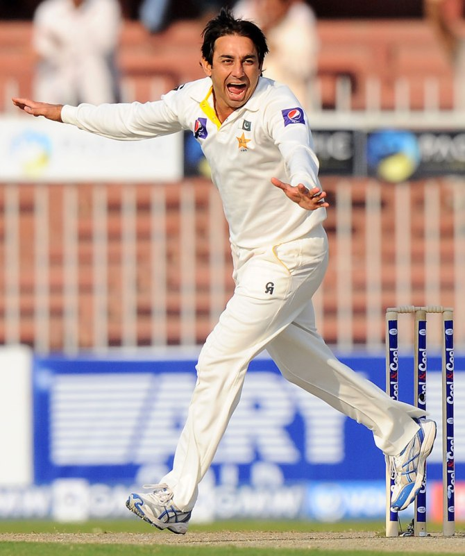 Ajmal's last match for Pakistan came in August 2014