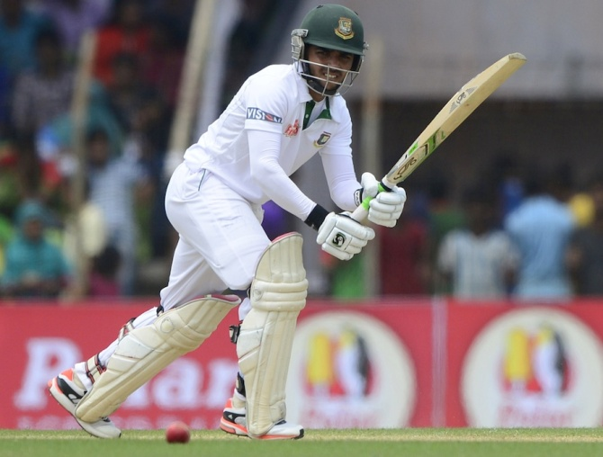 Haque hit eight boundaries during his knock of 80