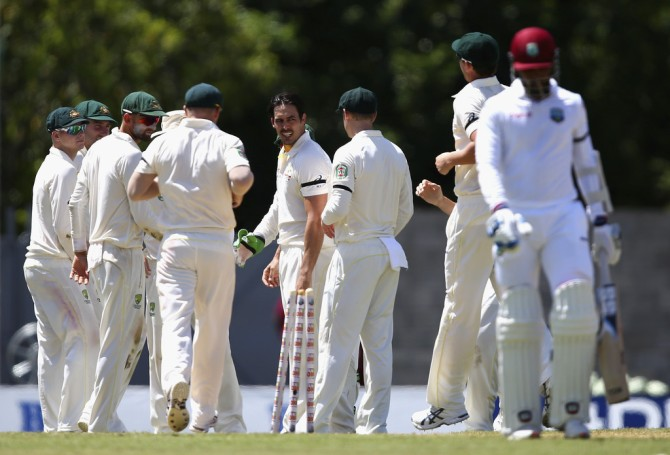 Australia sliced through the West Indies' batting line-up